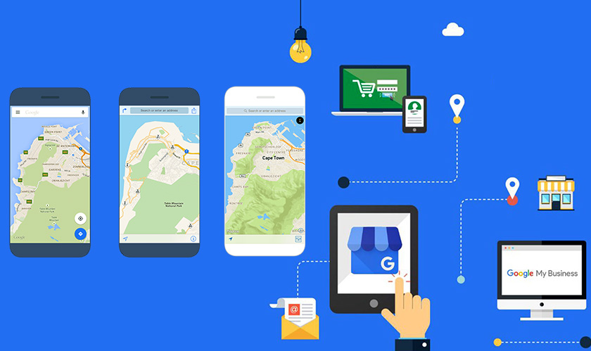 google maps adds messaging