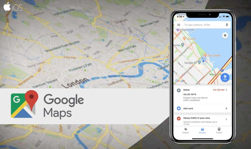 iOS gets a new timeline with the latest Google Maps update