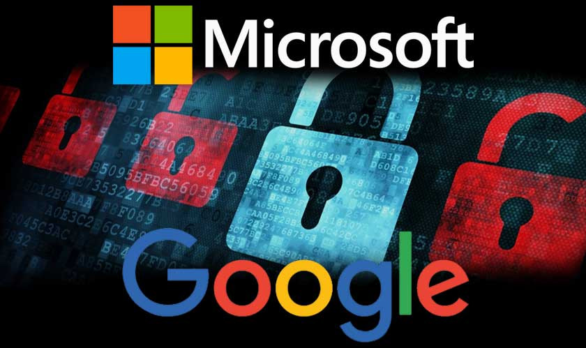 France relies on Google and Microsoft to protect sensitive data