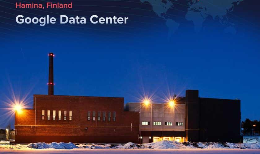 google new data center finland