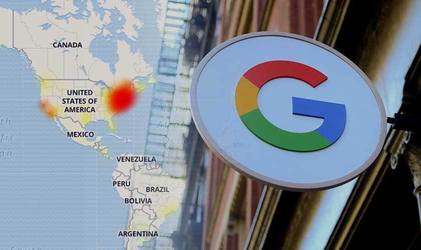 Google outage dampens many web services, including YouTube