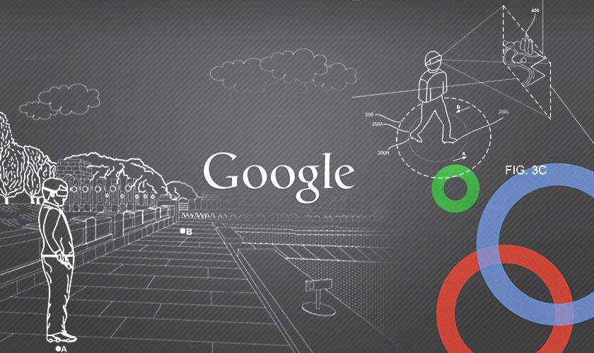 """Walk an infinite distance in VR using Google's imagined """"motorized footwear"""""""
