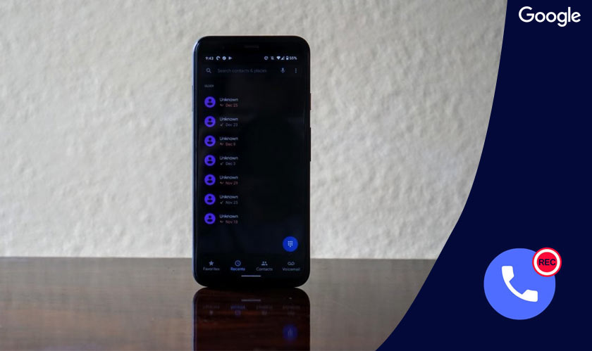 google phone app call recording