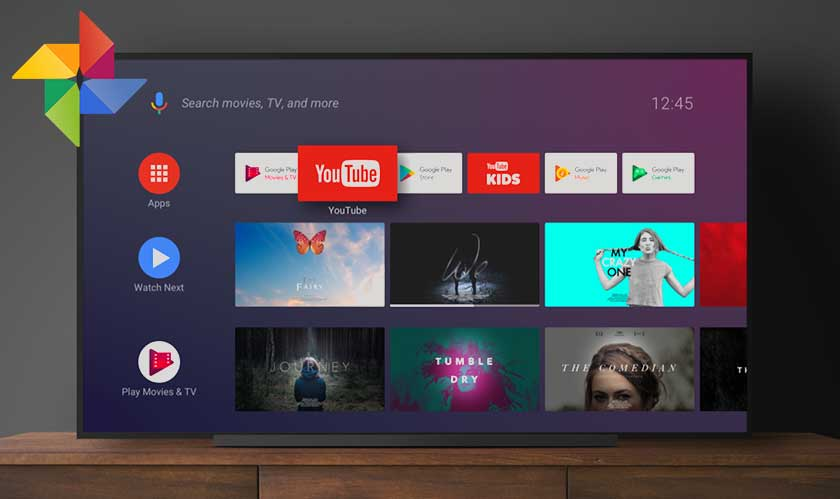 Bug on Google Photos expose user accounts on Android TV