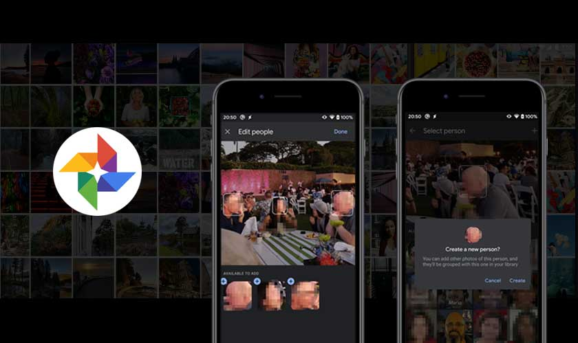 Google Photos introduce manual face tagging
