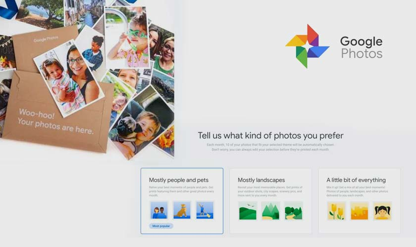 Google Photos tests monthly subscription service to print photos