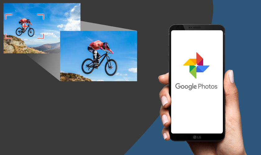 mobile google photos video zooming