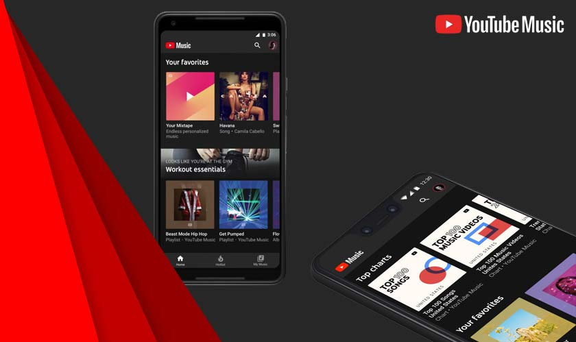 Google is testing Play music's features on YouTube music