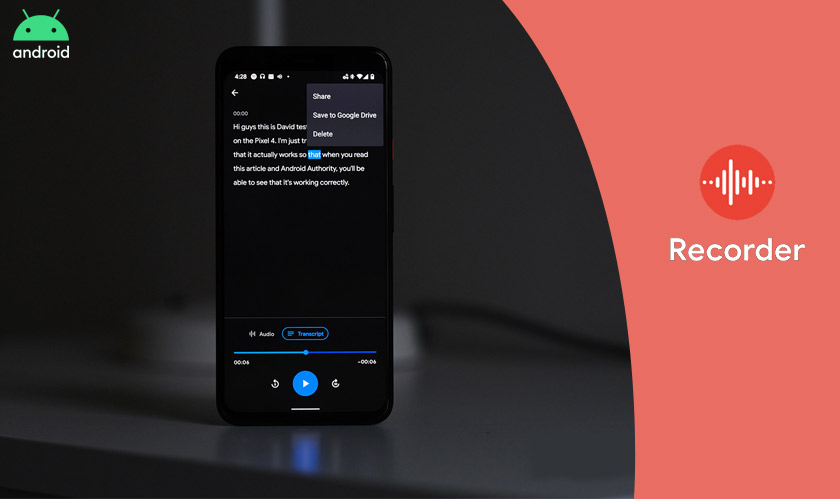 google recorder android