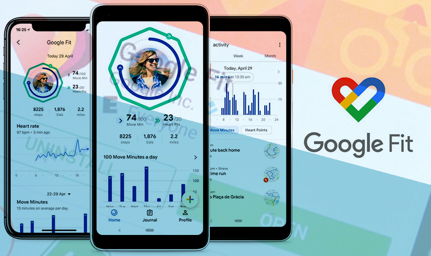 Google's new Fit design is more relaxed with metrics and rings