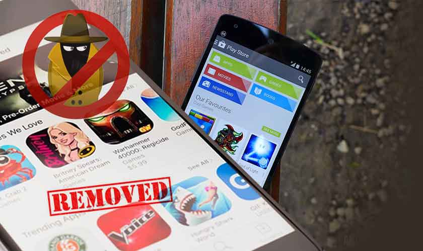 google removes malicious apps