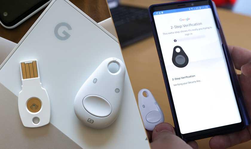 google replaces bluetooth titan keys
