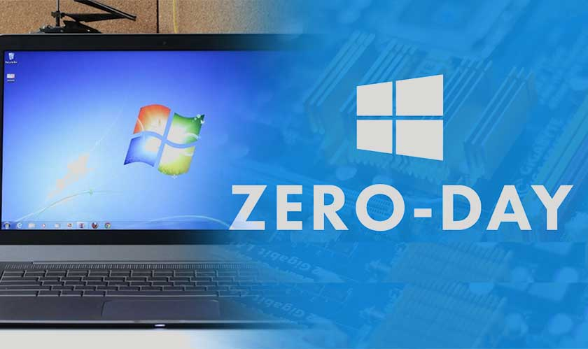 There's a zero-day exploit in Windows 7- Google reports