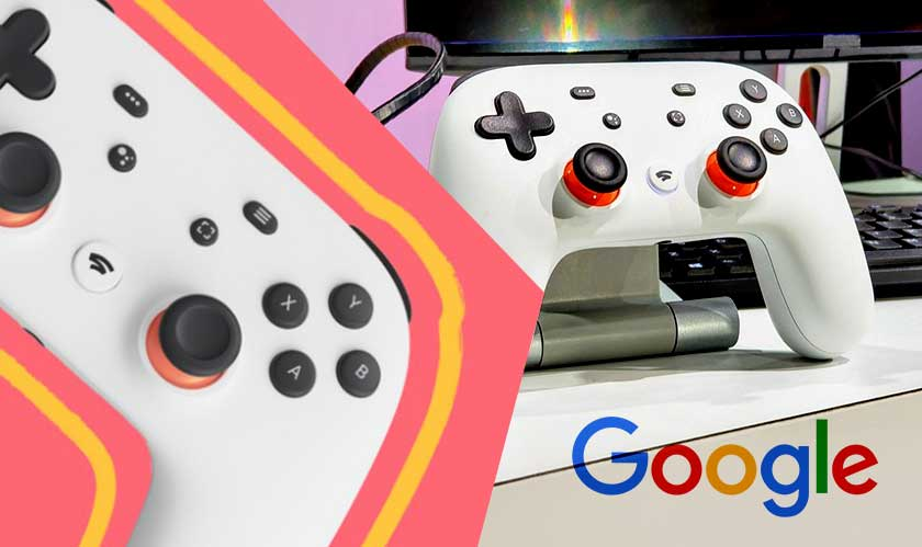 Check out the Google Game Controller for Stadia streaming service