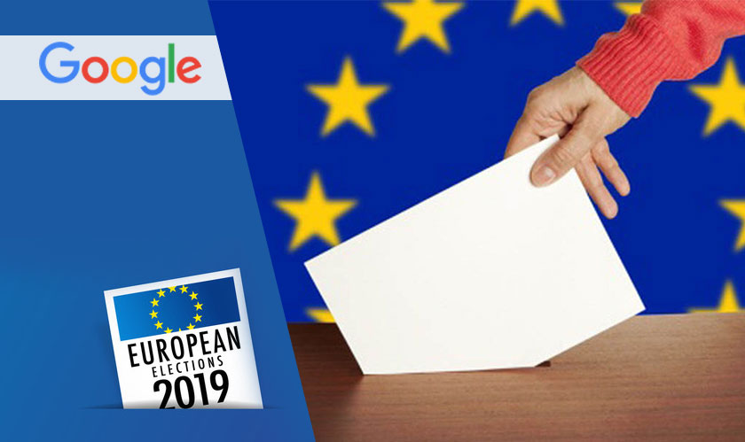Google announces support to the EU during parliamentary elections