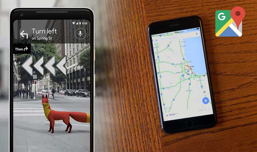 google tests maps ar feature