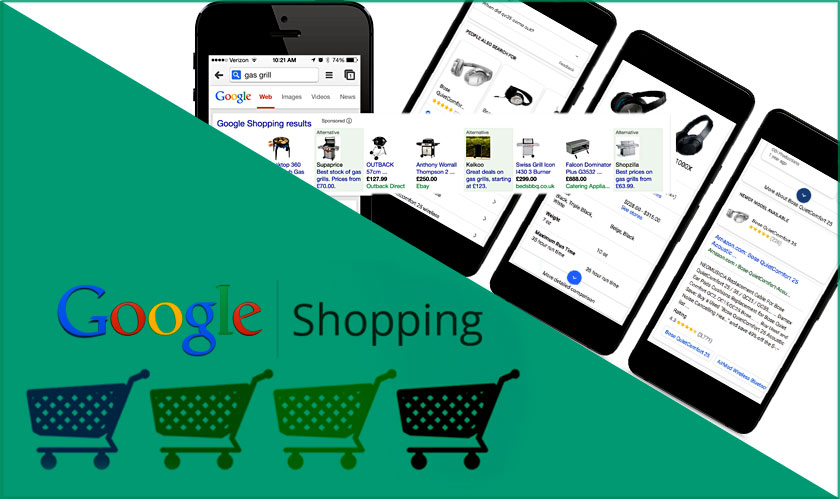 Google updates shopping search on cellular phones