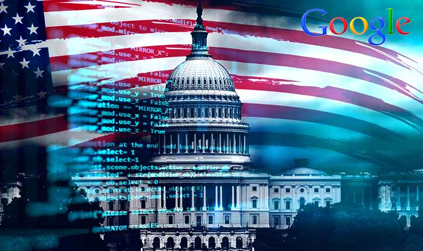 google us government privacy