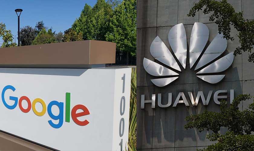 google warns about banning huawei