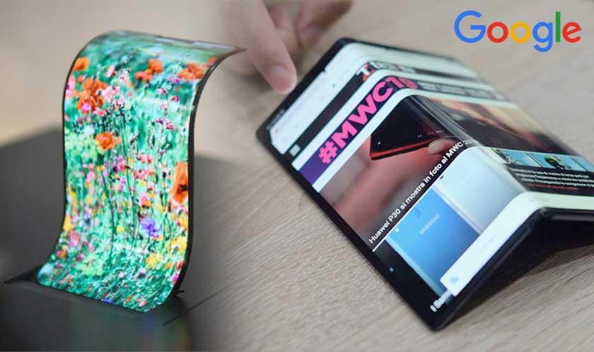 google working on folding phone