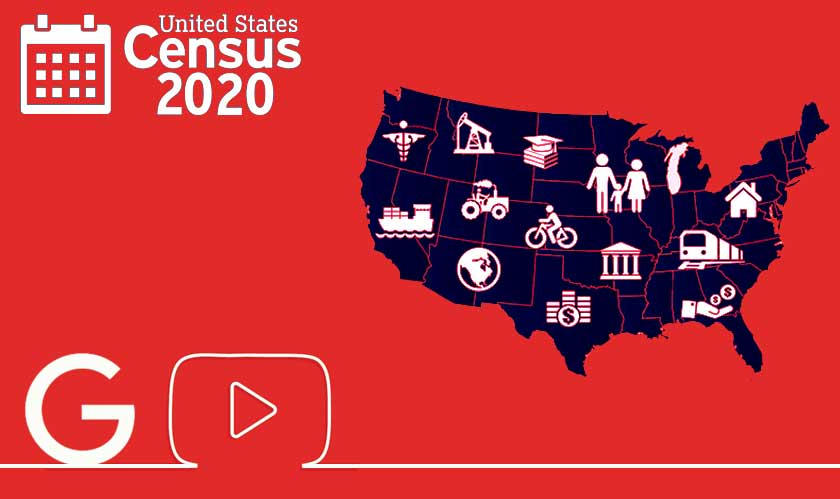 Google and YouTube doing their bit to secure 2020 Census