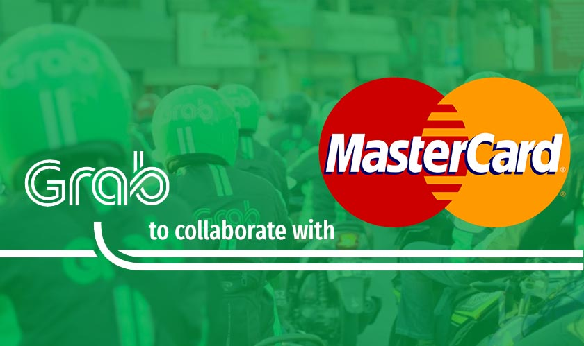 grab partners with mastercard