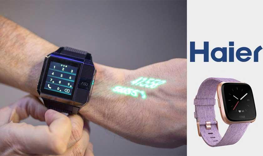 haier asu smartwatch projector