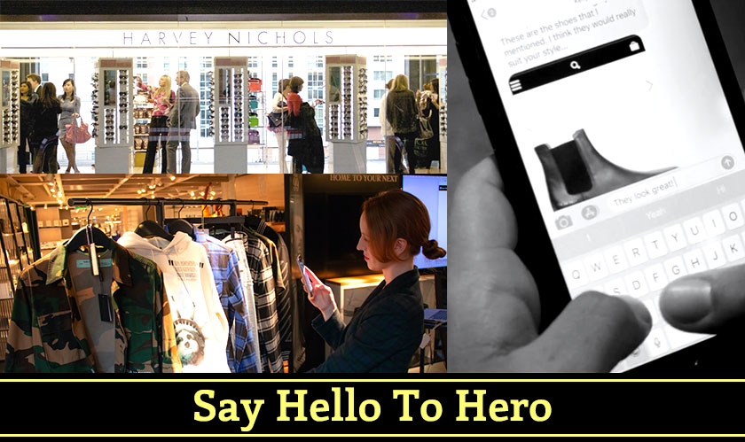 Chat to Shop: The New Harvey Nichols-Hero App