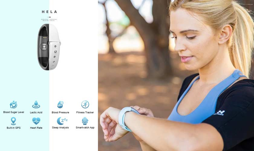 Hela Bio A New Smartwatch That Can Measure Blood Glucose Levels