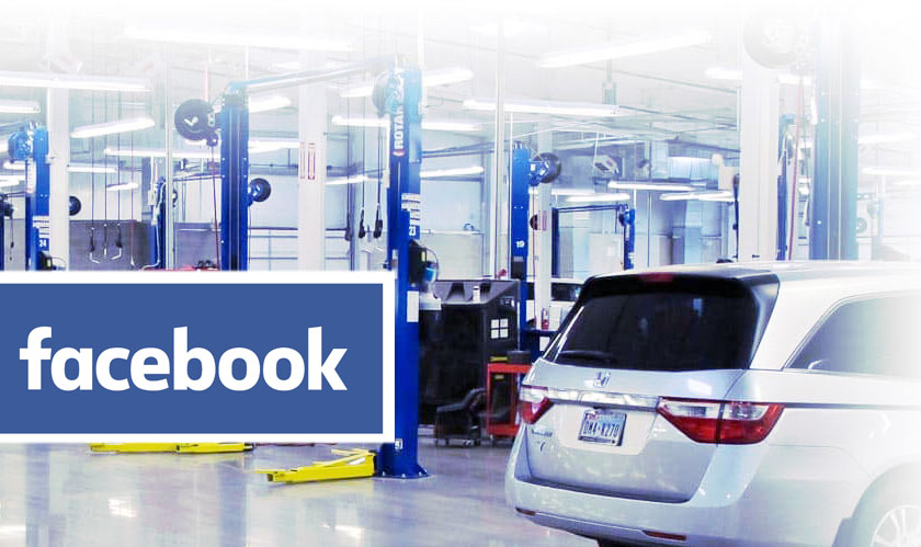 Honda to use Facebook Target Videos to Track Owners for Repairs