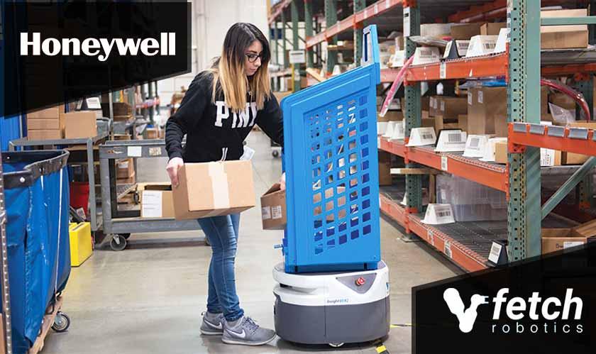 honeywell associates with fetch robotics