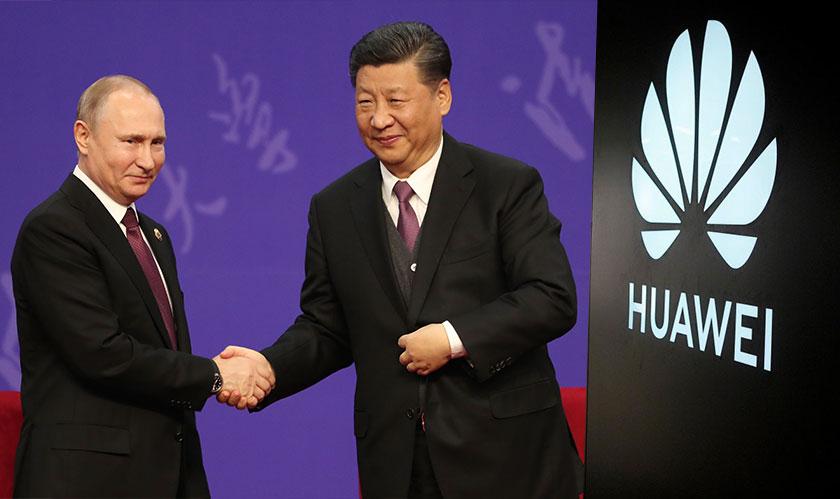 huawei 5g russia deal