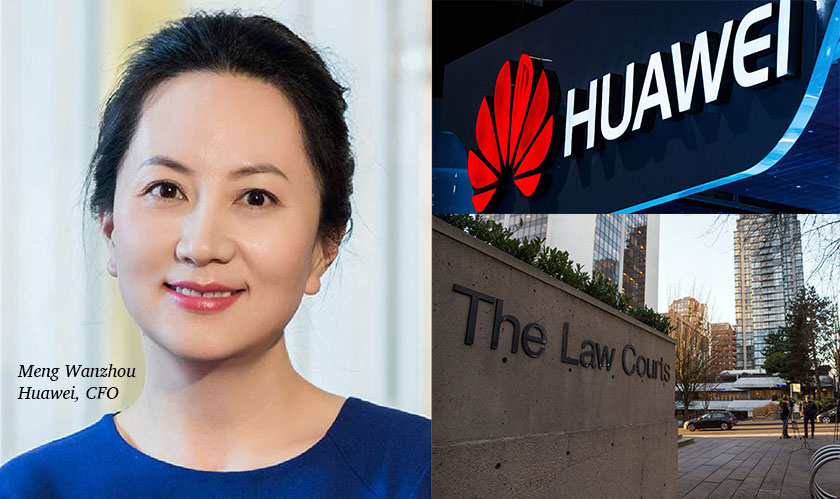 30 years of imprisonment for Huawei CFO, if found guilty