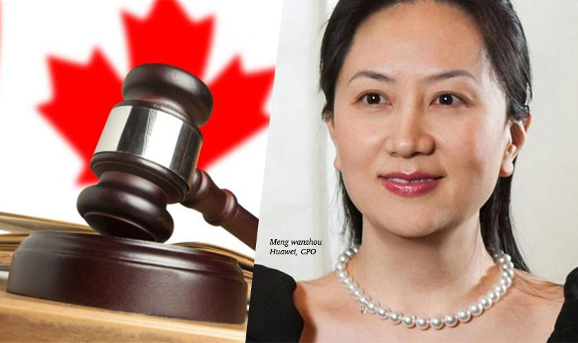 Huawei's Meng Wanzhou granted bail on certain conditions