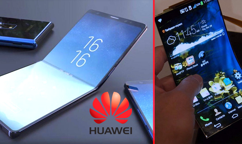 Huawei might win against Samsung over first-ever foldable smartphones