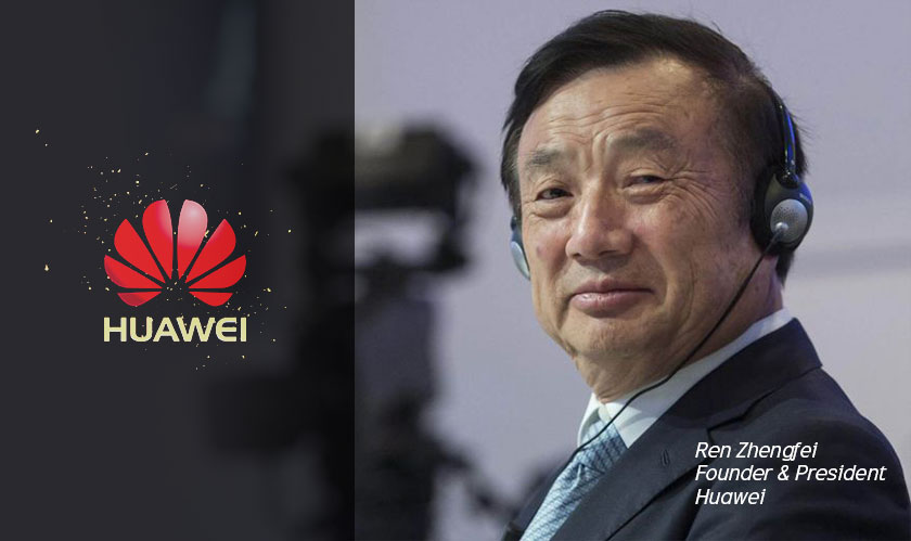huawei founder challenges the us