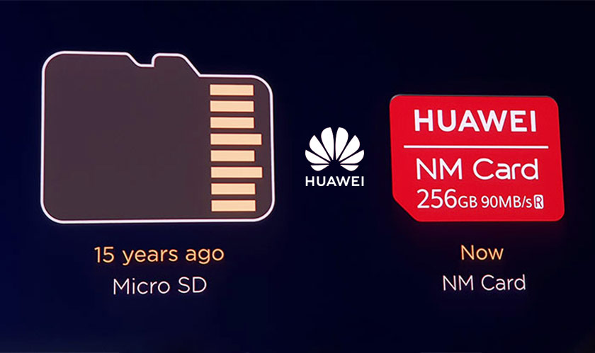 huawei launches nano memory card