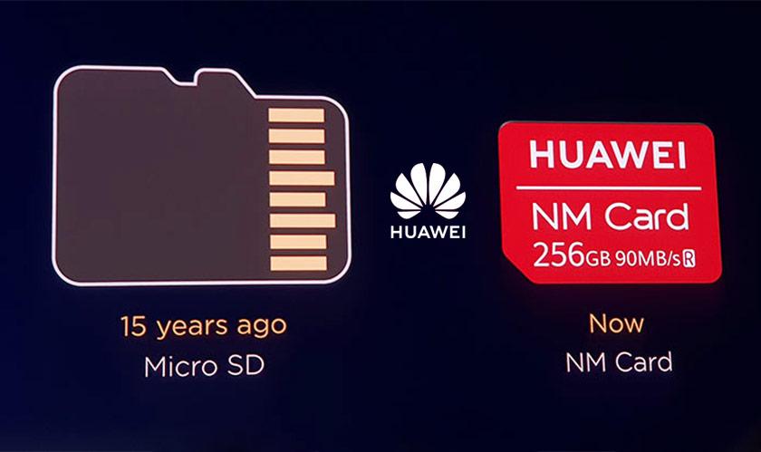 huawei launches nano memory card