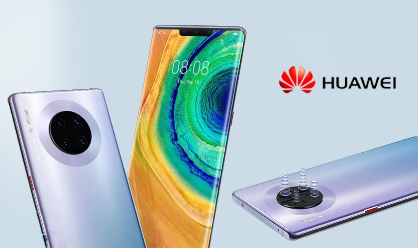 Huawei introduces its new flagship phones, the Mate 30 series