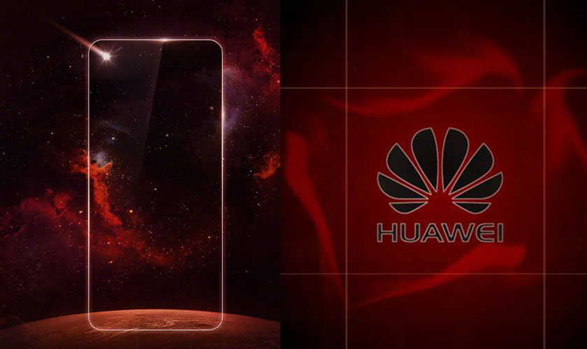 huawei notchless smartphone