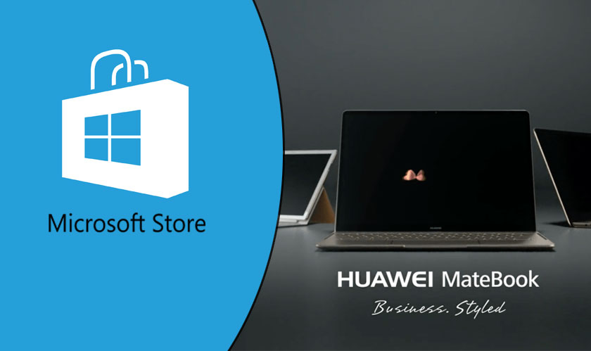 huawei returns to microsoft store