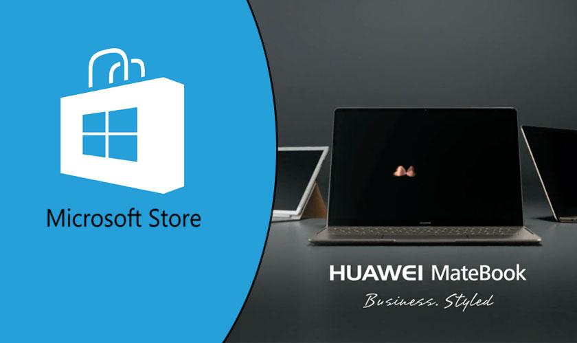 Huawei laptops return to Microsoft store
