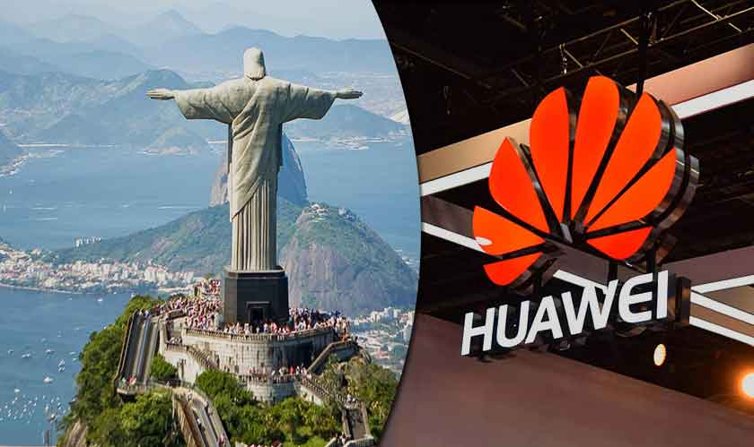 huawei to invest in brazil