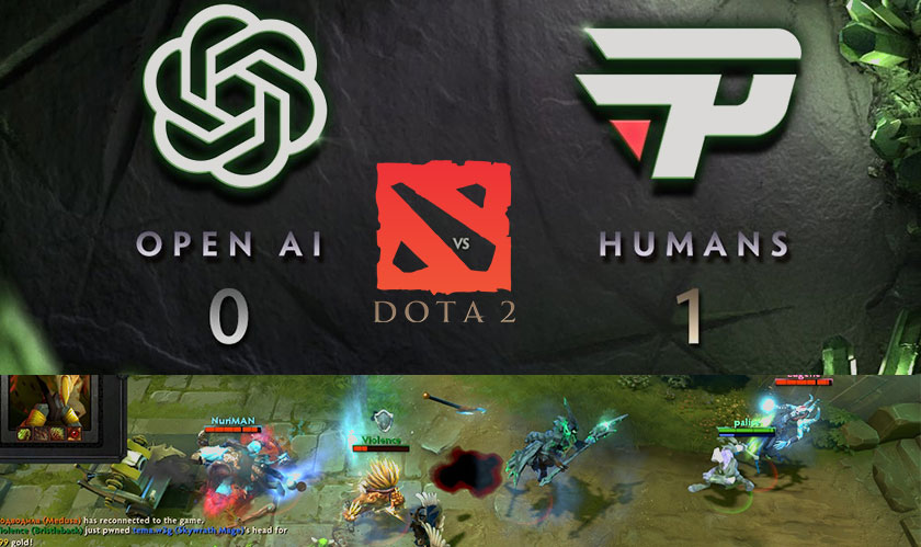Humans take down OpenAI's bots at Dota 2