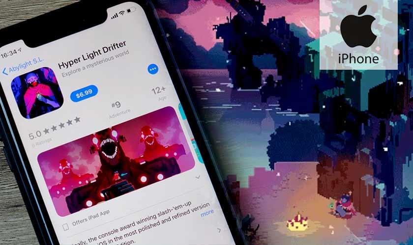 hyper light drifter game iphone