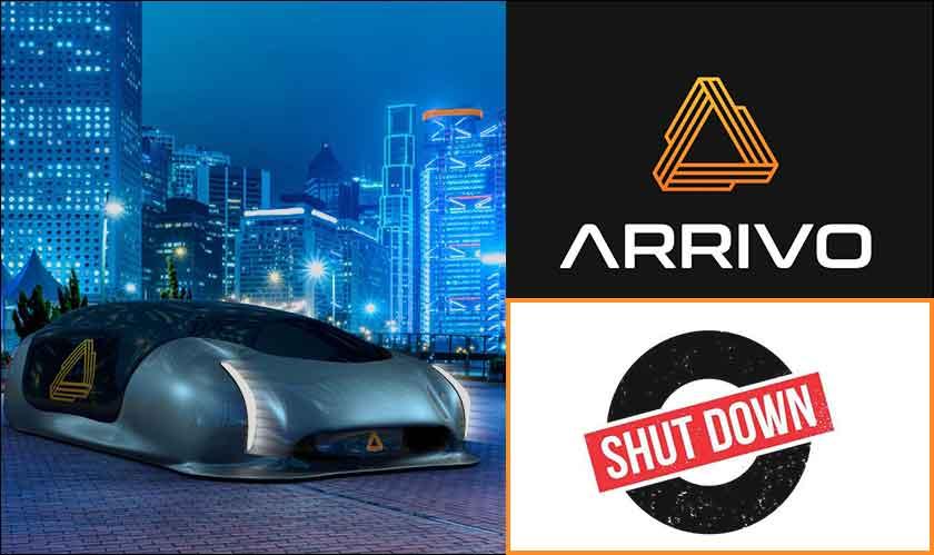 hyperloop startup arrivo closes