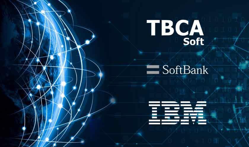 ibm tbcasoft softbank blockchain