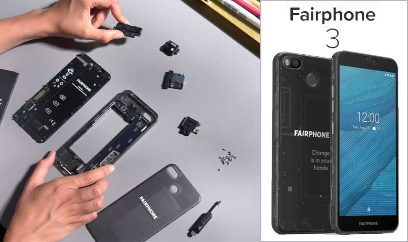 ifixit rates fairphone 3 high