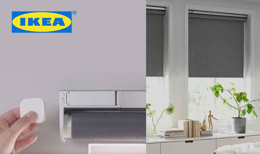 Ikea's smart window blinds to hit the U.S. in April