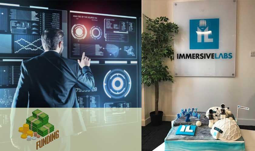 immersive labs raises 8million
